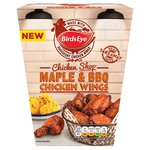 Birds Eye Chicken Shop Maple & BBQ Chicken Wings Frozen
