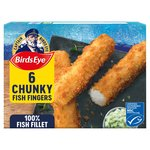 Birds Eye 6 Chunky Fish Fingers Frozen