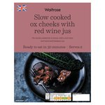 Waitrose Slow Cooked Ox Cheeks with Red Wine