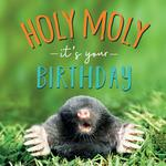Holy Moly Birthday Card