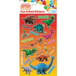 Dinosaur Roar Foil Sticker