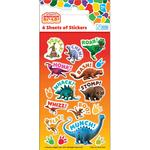Dinosaur Roar Party Sticker Pack