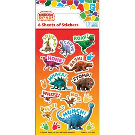Dinosaur Roar Party Sticker Pack | Ocado
