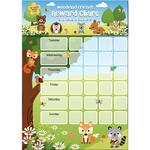 Woodland Friends Sticker Reward Chart
