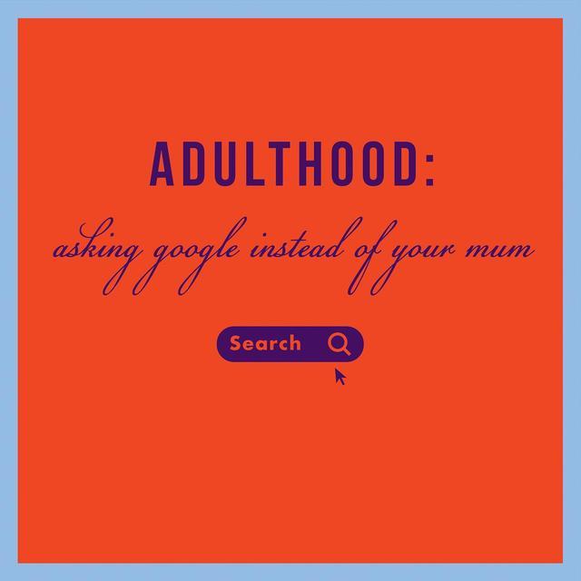 Adulthood Birthday Card From Ocado