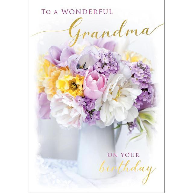 Grandma Birthday Card From Ocado