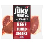 The Juicy Meat Co 1kg Rump Steaks