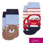 Joules Character Multi Car Bear Socks