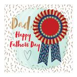 Number 1 Dad Father's Day Card
