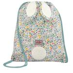 Cath Kidston Kids Novelty Bunny Drawstring Bag Bunny Meadow Oyster Shell