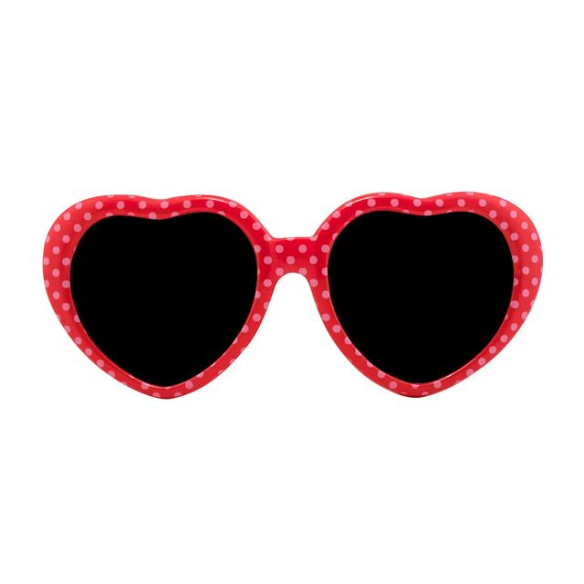 Cath Kidston Kids Heart Sunnies Little Spot Brilliant Red