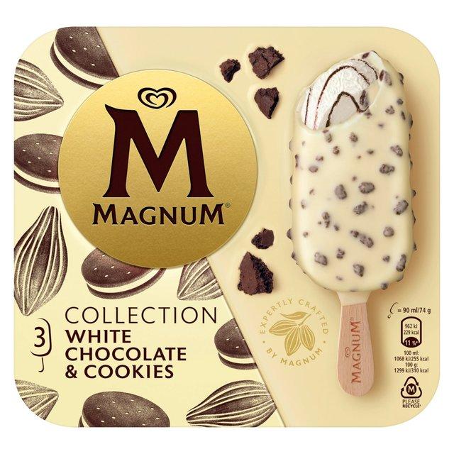White Chocolate & Cookies Ice Cream