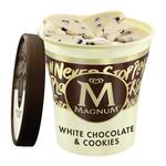 Magnum Tub White Chocolate & Cookies Ice Cream
