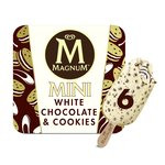 Magnum Mini White Chocolate & Cookies Ice Cream