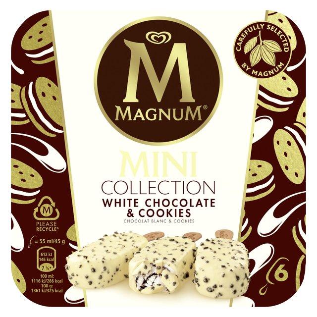 Magnum White Cookies