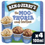 Ben & Jerry's Moophoria Cool-lection Ice Cream