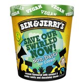 Ben & Jerry's Dairy Free Coconutterly Caramel'd Ice Cream