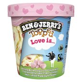 Ben & Jerry's Topped Love Ice Cream