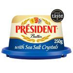 President Sea Salt Crystal Butter