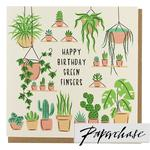 Paperchase Green Fingers Happy Birthday Card