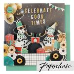 Paperchase Celebrate Good Times Card