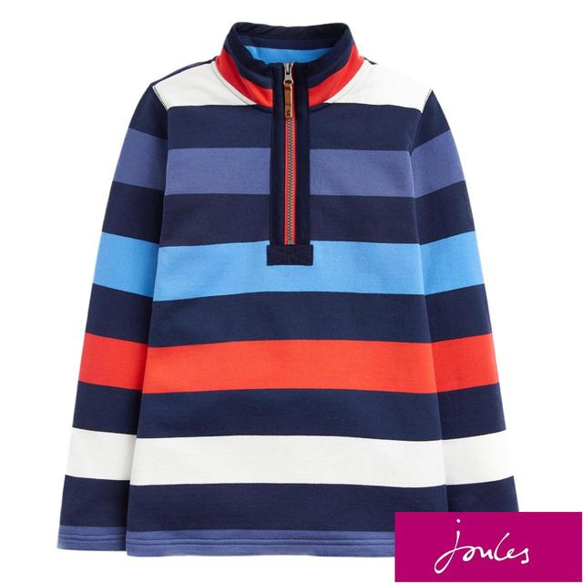 Joules  Blue Red Stripe Jumper