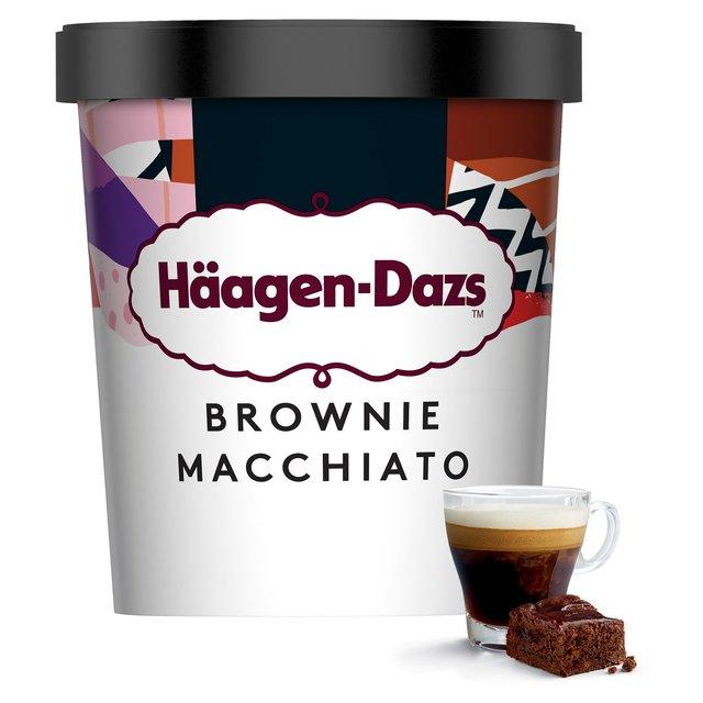 Haagen Dazs Brownie Macchiato Ice Cream | Ocado