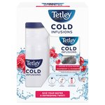 Tetley Cold Infusions Raspberry & Cranberry Starter Pack