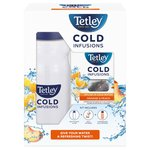 Tetley Cold Infusions Peach & Orange Starter Pack