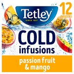 Tetley Cold Infusions Mango & Passionfruit Teabags
