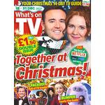 What's on TV Christmas Double Issue