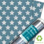 Star Canvas Gift Wrap Sheets