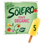 Solero Organic Peach Ice Cream Lolly