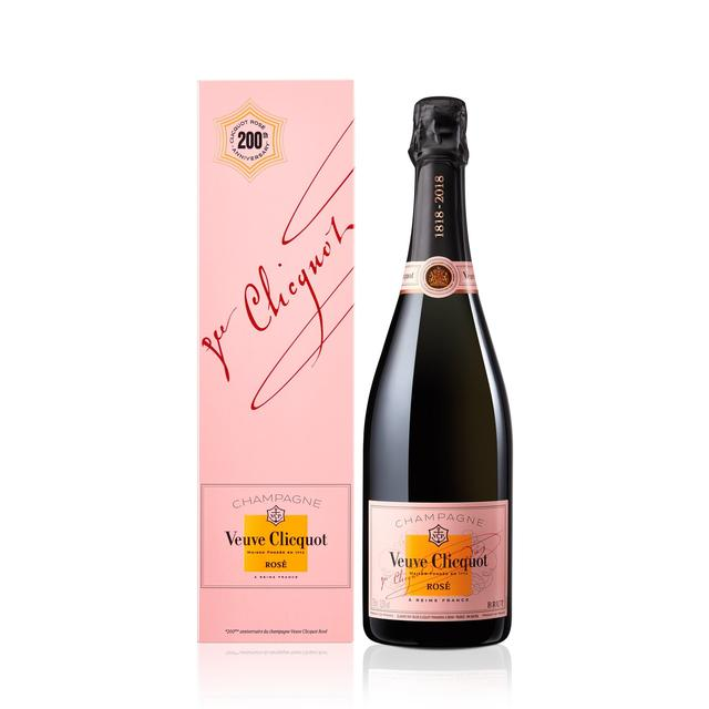 Veuve clicquot brut rose champagne nv 75cl from ocado for What is rose champagne