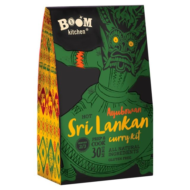Boom Kitchen Sri Lankan Curry Kit Ocado