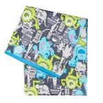 Hippychick Bumkins Disney Splat Mat  - Monsters Grey