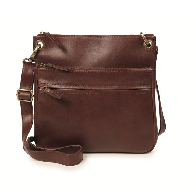 FatFace Ada Cross Body Bag, Chestnut