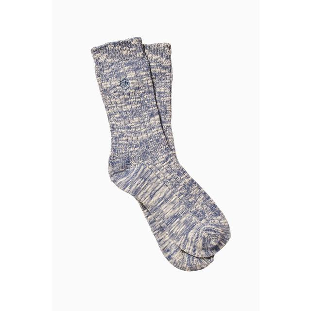 FatFace Womens Cotton Twist Boot Socks, Blue, Size 4-7