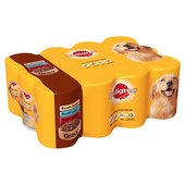Pedigree Dog Tins Meat in Gravy