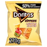 Doritos Lightly Salted Tortilla Chips