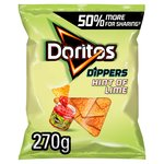 Doritos Hint of Lime Tortilla Chips