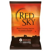 Red Sky West Country Bacon & Cream Cheese Crisps