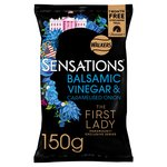 Sensations Caramelised Onion & Balsamic Vinegar Crisps