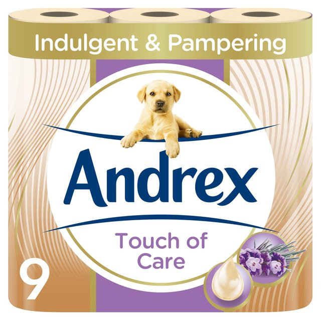 Andrex Touch of Luxury Shea Butter Toilet Tissue