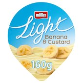 Muller Light Smooth Banana & Custard Yoghurt