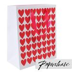 Paperchase Red Heart Valentine's Gift Bag