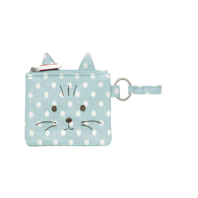 Cath Kidston Kids Novelty Cat Pocket Money Purse Little Spot