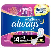 Always Platinum Pads Secure Night