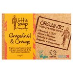 Little Soap Co Organic Grapefruit & Orange Bar Soap