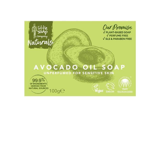 Little Soap Co Avocado Bar Soap